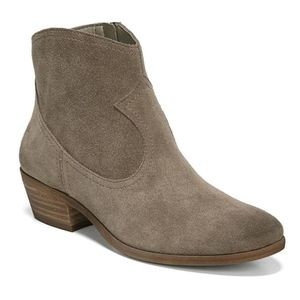 Sam Edelman Peggy Western Suede Ankle Booties 5.5
